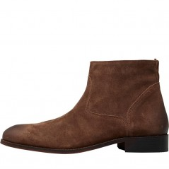 Frank Wright Hardin Dark Brown Oiled Suede