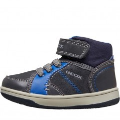 GEOX New Flick Anthracite/Royal