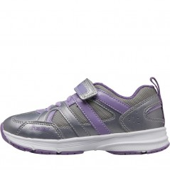 GEOX Fly Silver/Lilac