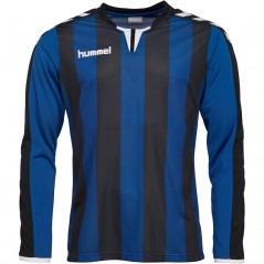 Hummel Striped Match Jersey II True Blue/Black