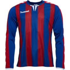 Hummel Striped Match Jersey II True Blue/True Red