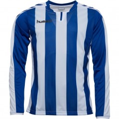 Hummel Striped Match Jersey II True Blue/White