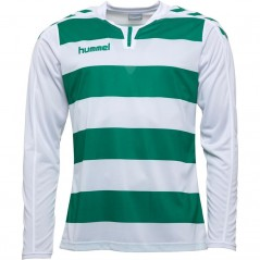 Hummel Hoops White/Green