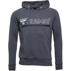 Hummel Comfort Large Hoodie Dark Grey Melange
