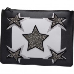 Juicy By Juicy Couture Monterey Clutch Black Star
