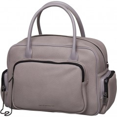 Juicy By Juicy Couture Cypress Multi Pocket Bowler Grey Grain
