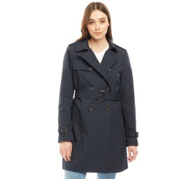 Jack Wills Ambrose Trench Navy