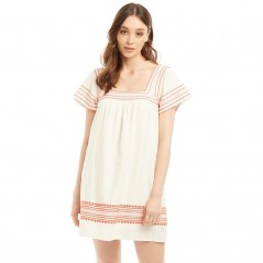 Jack Wills Heatherington Embroidered Ecru