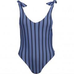 Jack Wills Heatherburn Tie Shoulder SwimBlack