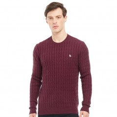 Jack Wills Marlow Cable Damson