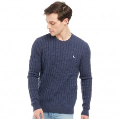 Jack Wills Marlow Cable Navy