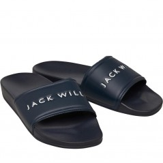 Jack Wills Dunnock Pool Navy