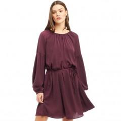 Jacqueline De Yong Gry Tie Purple