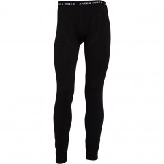 JACK AND JONES Sense Long Johns Black