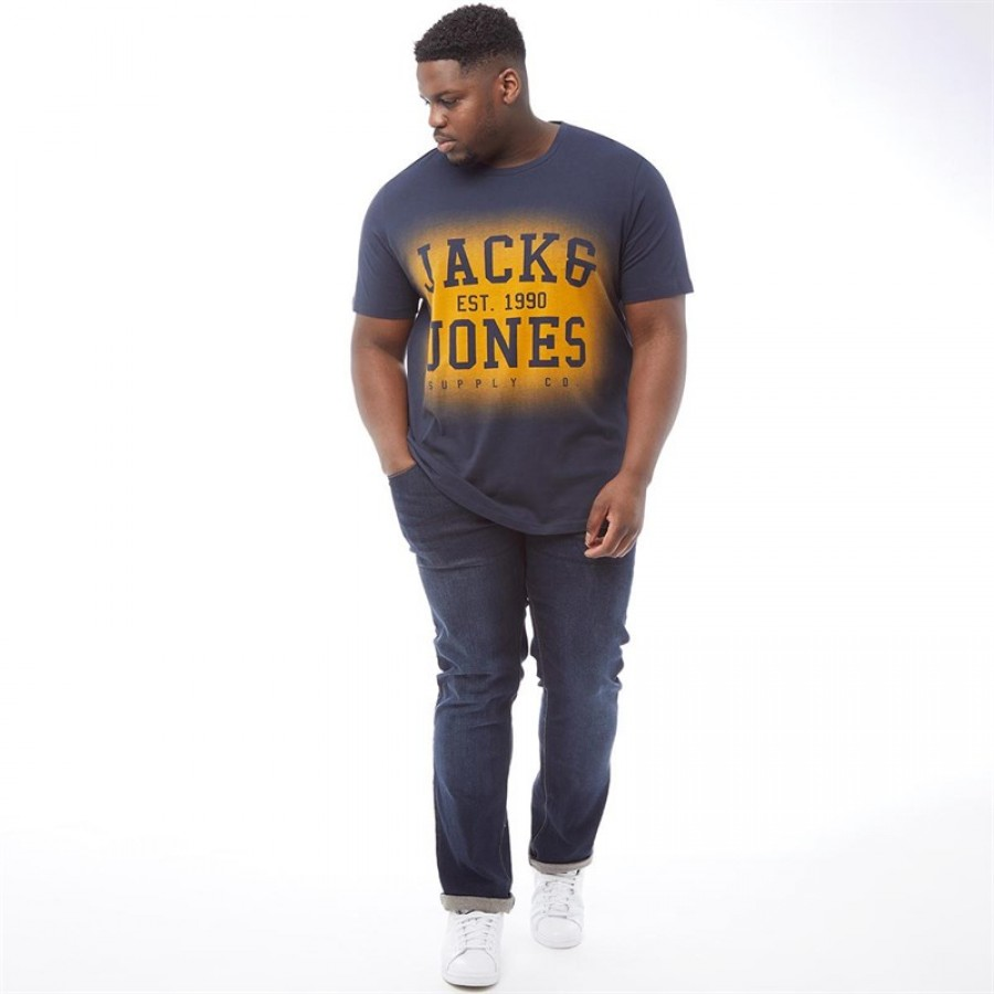 81ef79d4a JACK AND JONES Plus Size Traffic T-Total Eclipse 2