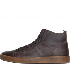 JACK AND JONES Duncan Leather Pirate Black