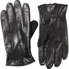 Kangaroo Poo Leather Black