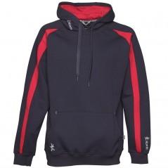 Kukri Premium Classic Hoodie Navy/Red