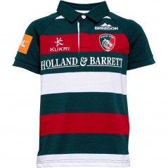 Kukri Leicester Tigers Home Classic Jersey Green/Red/White
