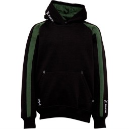 Kukri Junior Premium Classic Hoodie Black/Green