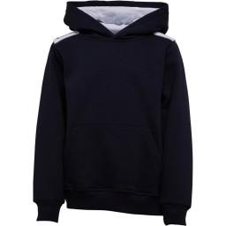 Kukri Premium Classic Hoodie Navy/White