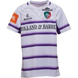 Kukri Junior Leicester Tigers Alternate Jersey White/Purple