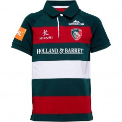 Kukri Junior Leicester Tigers Home Classic Jersey Green/Red/White