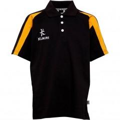 Kukri Premium Classic Polo Black/Amber
