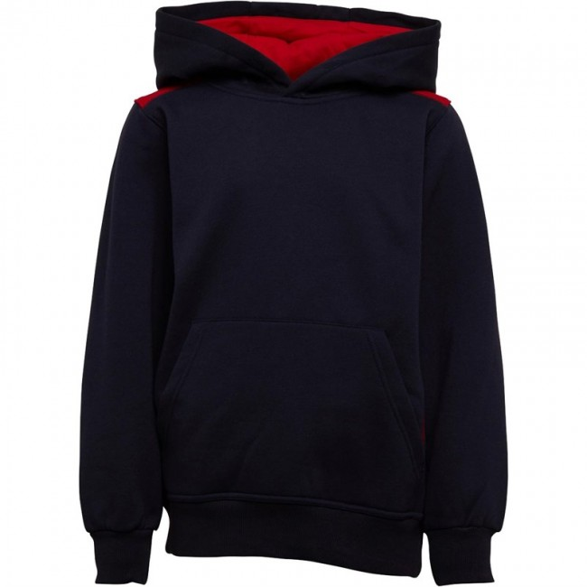 Kukri Leisure Hoodie Navy/Red