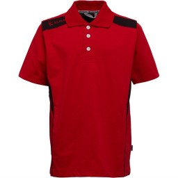 Kukri Leisure Polo Red/Black