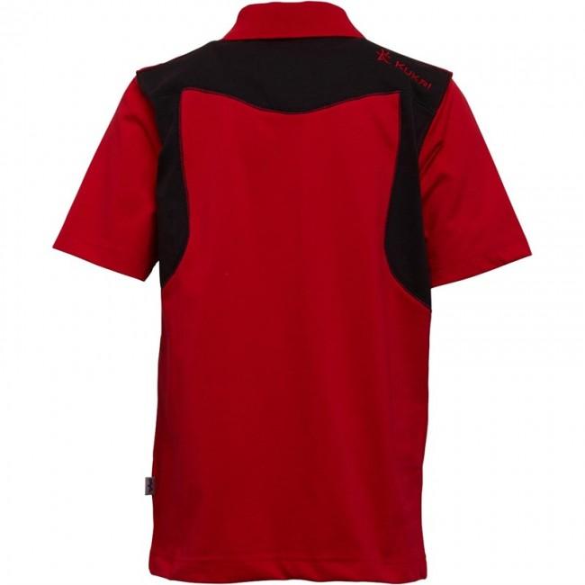 Kukri Leisure Polo Red/Black