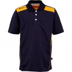 Kukri Leisure Polo Navy/Amber