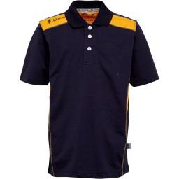 Kukri Leisure Polo Navy/Amber