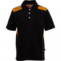 Kukri Leisure Polo Black/Amber