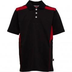 Kukri Leisure Polo Black/Red