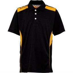 Kukri Performance Polo Black/Amber