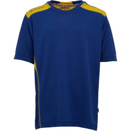 Kukri Performance T-Royal Blue/Yellow