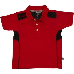 Kukri Performance Polo Red/Black