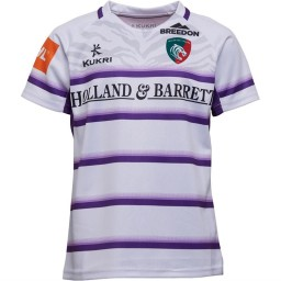 Kukri Leicester Tigers Alternate Jersey White/Purple