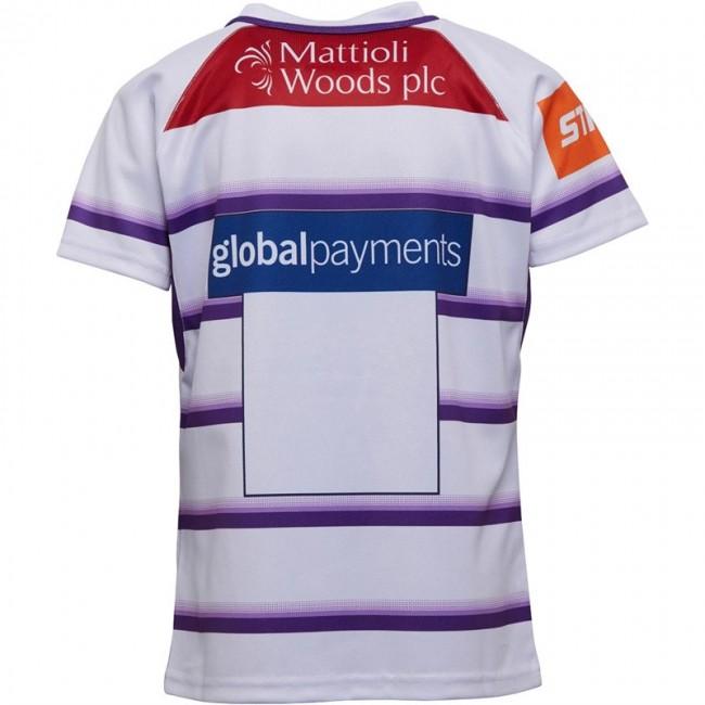 Kukri Leicester Tigers Alternate Jersey White/Purple