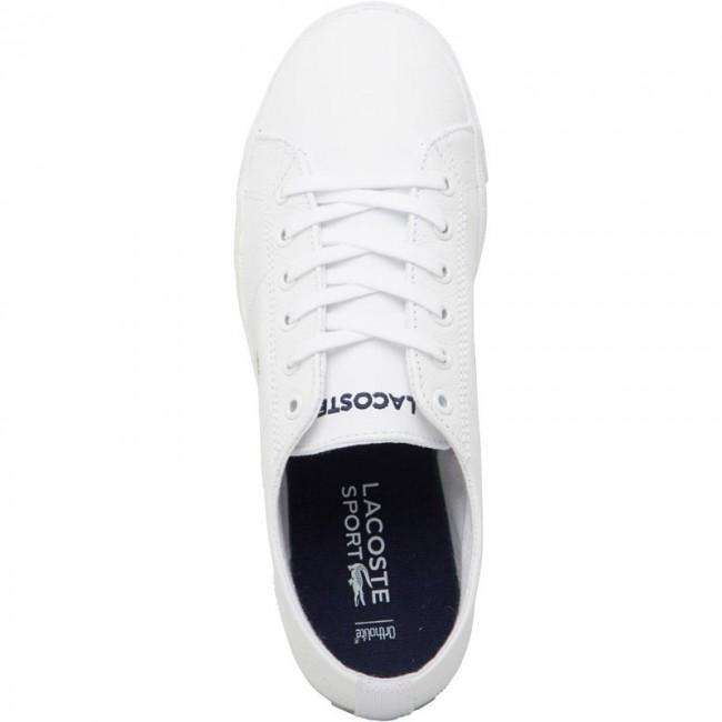 Lacoste Riberac Leather White/White
