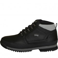 Lacoste Upton Hiker Leather Black/Grey