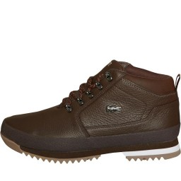 Lacoste Upton Hiker Leather Brown/Black