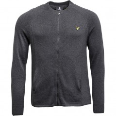 Lyle And Scott Vintage Charcoal Marl