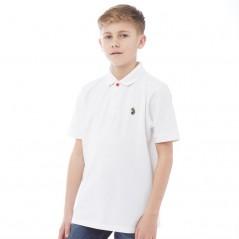 Junior Luke Williams Polo White