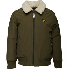 Lyle And Scott Junior MA2 Olive Tree