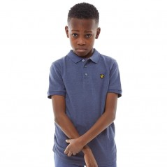 Lyle And Scott Junior Classic Polo Navy Marl
