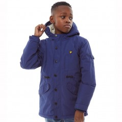 Lyle And Scott Junior Weight MicroTwilight Blue