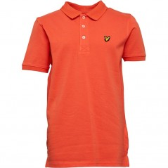 Lyle And Scott Junior Classic Polo Tigerlily