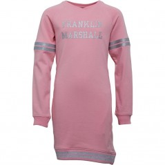 Franklin & Marshall Junior Longline Quartz Pink